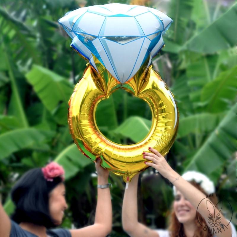 Ballon diamant géant