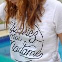 T-Shirt Appelez-moi Madame rond