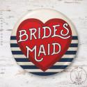 Badge Marin Bridesmaid
