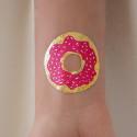 Tatouage éphémère Donut