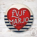 Badge Marin EVJF personnalisable