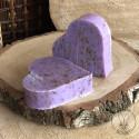 Savonnette Grand Cœur à la Lavande broyée