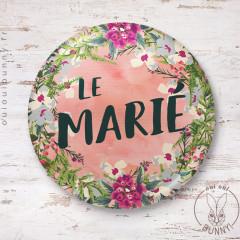 Badge épingle Le Marié