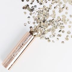 Canon à confettis cuivre / Rose Gold