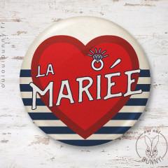 Badge Marin la Mariée