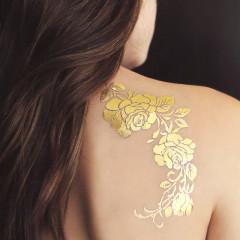 Grand Tatouage éphémère à Roses