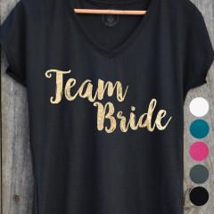 T-shirt Team Bride pour EVJF