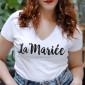 T-Shirt La Mariée Ajusté