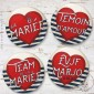 Kit de Badges EVJF Cœur Marin